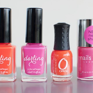 Loving…Pink and Orange Neons