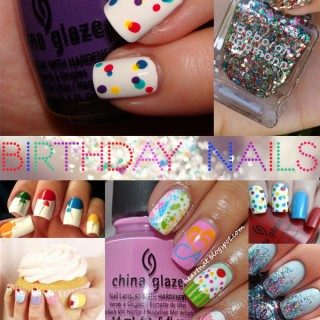 Nail-spiration: Birthday Nails