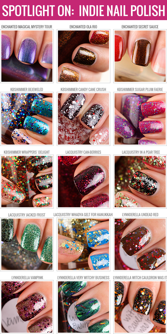 Indie nail polish swatches by Temptalia