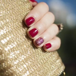 3D Glitter Feature Nail – YSL & Hello Darling Glitterbug Unicornicopia