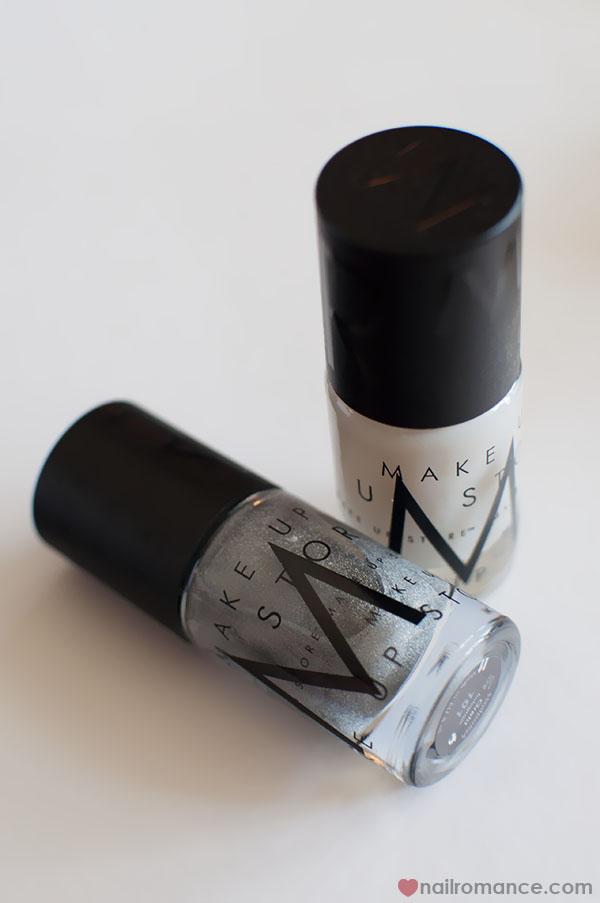 Mak Up Store Nail Polish - Aqua Fix and Greta hologram