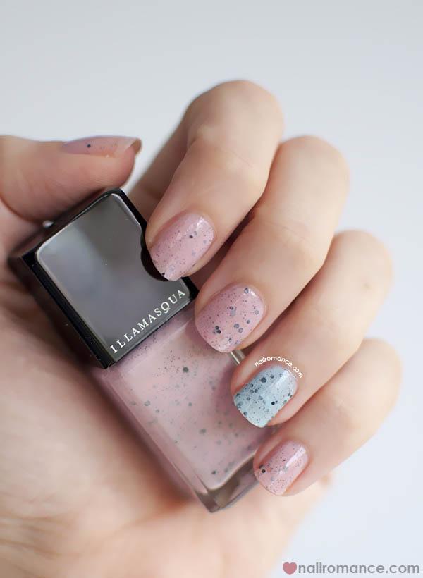 Nail Romance - Illamasqua Speckled Nail Polishes Fragile and Scarce