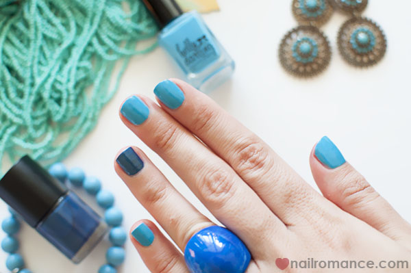Nail Romance - Manicure Monday blues
