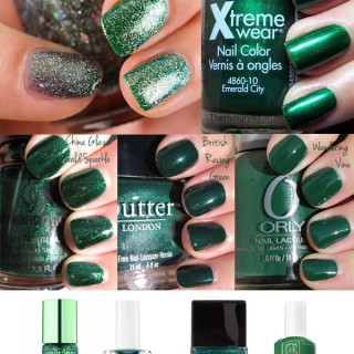 Nailspiration: Emerald Green – Pantone Colour of the Year 2013