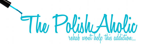 The PolishAholic - nail blog header