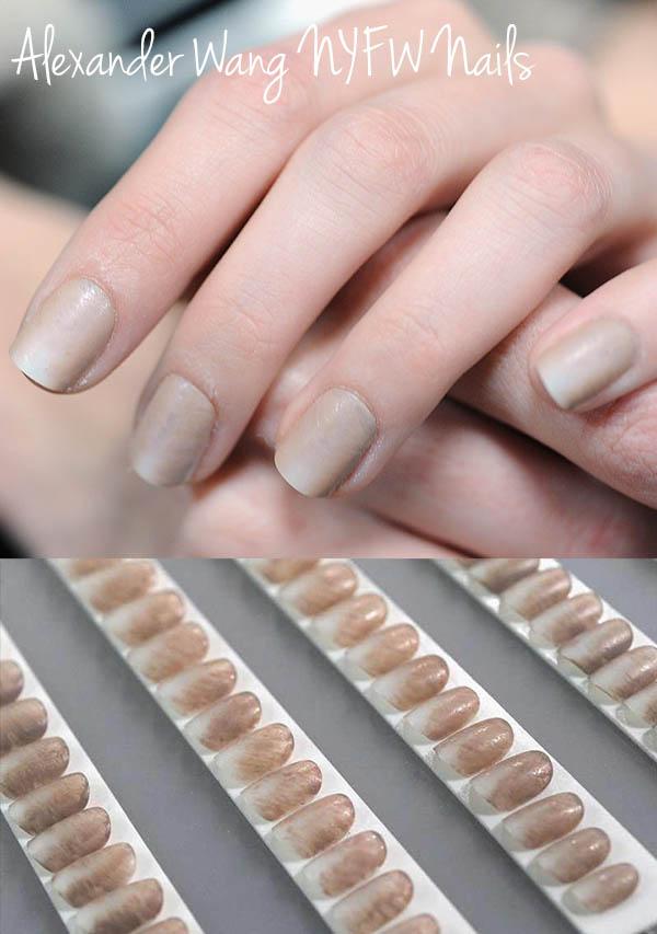 Alexander-Wang NYFW nails