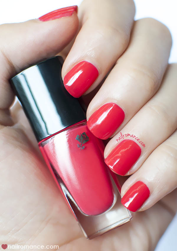 Lancome Rouge in Love Vernis - Nail Romance