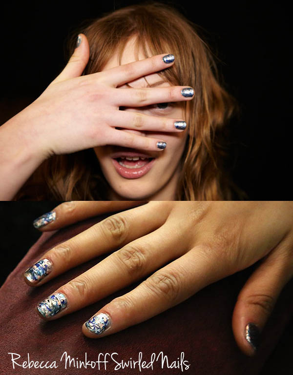 NYFW nail trends to try now - Rebecca Minkoff Nail Art
