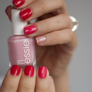 Loving…Red Pink Ombre Manicures and Essie in Australia