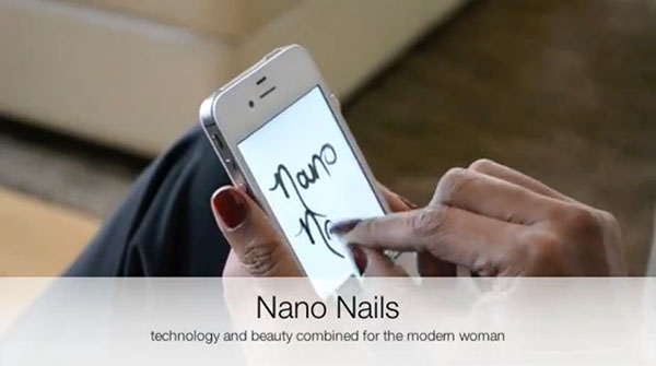 Nano Nail - stylus fingertip fake nails