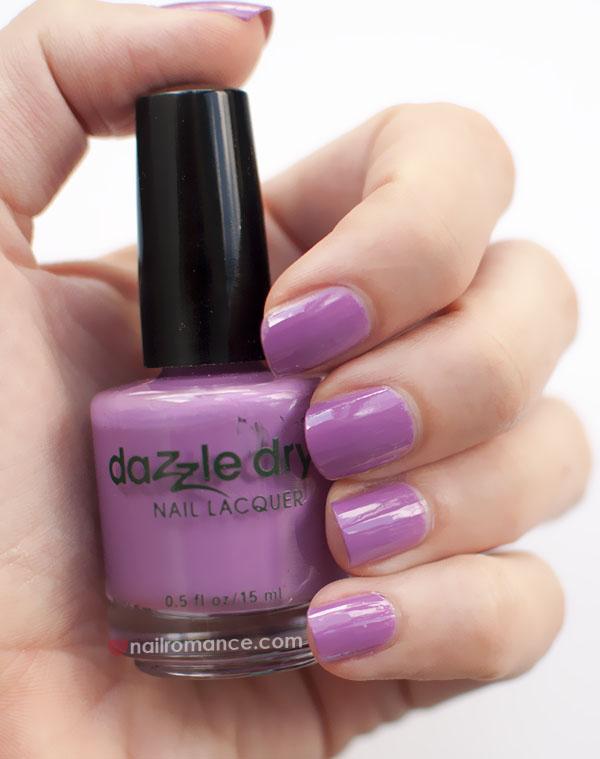 Nail Romance - Dazzle Dry polish - Vive le Violet