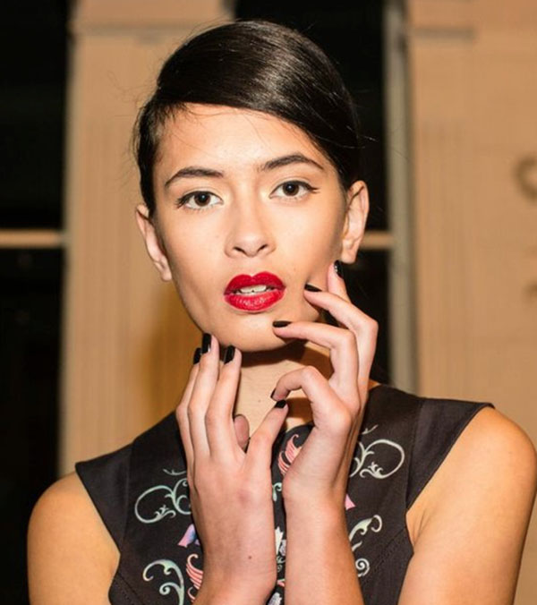 Biosculpture nails at Toi et Moi show