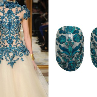 Marchesa nail stickers by Revlon
