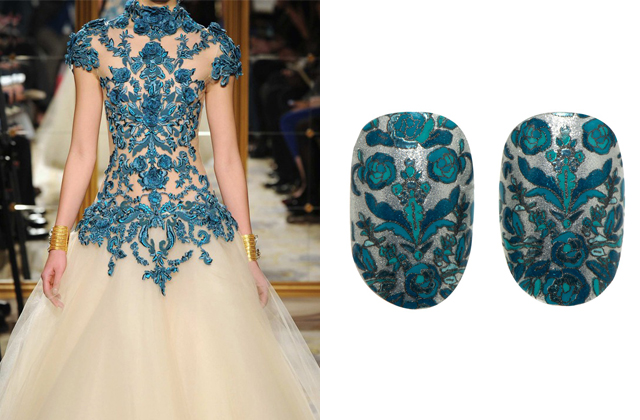 Marchesa nail art for Revlon