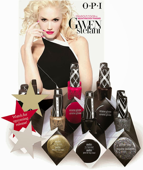 Gwen Stefani for OPI nail polishes