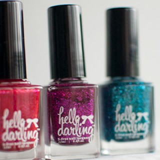 Hello Darling Party Polishes – Fiesta, Fisso and Fête
