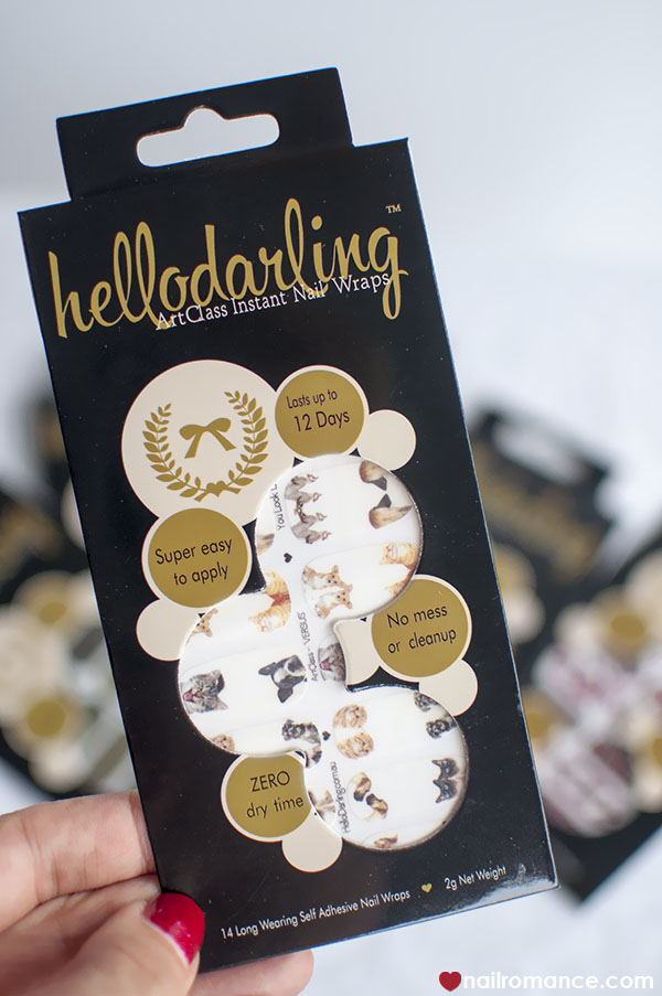 Dog and cat nail wraps from Hello Darling