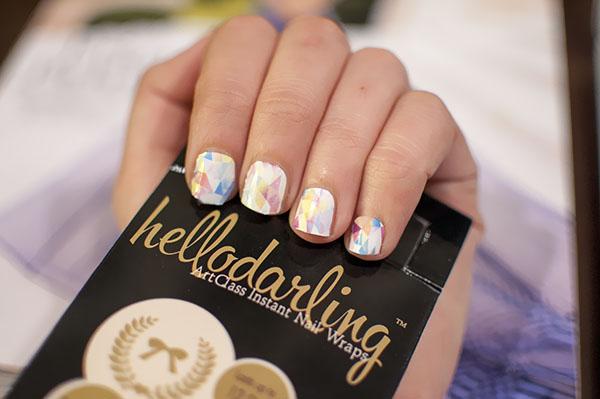 Hello Darling Nail Wraps - Nail Romance