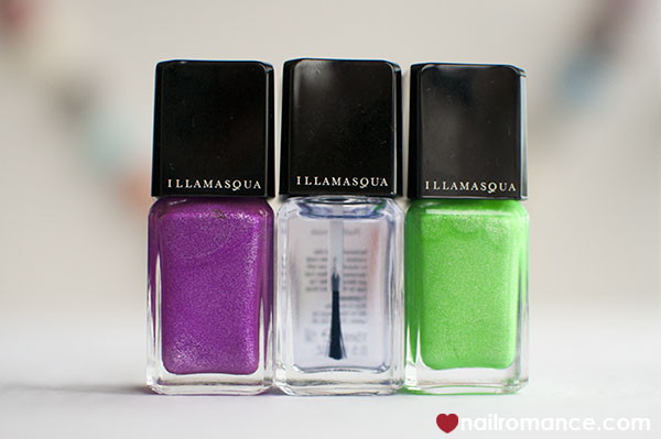 Illamasqua ultra violet nail polishes