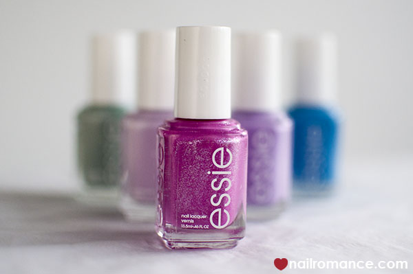 Nail Romance - new Essie collection