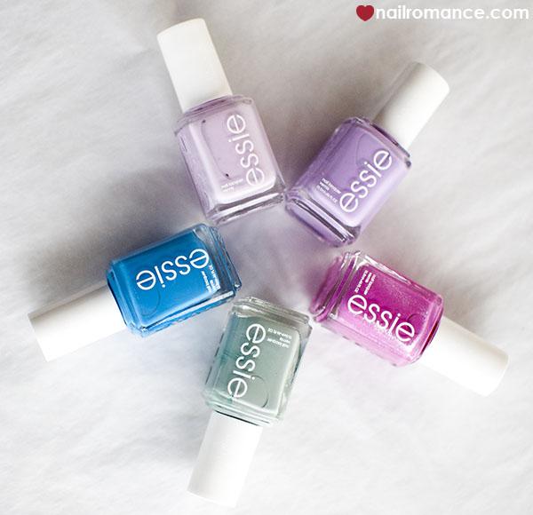 Nail Romance - new Essie shades