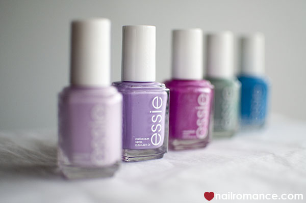 Nail Romance - the new Essie collection