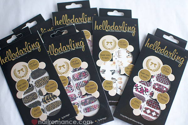 New nail wraps from Hello Darling