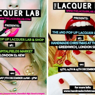 The Lacquer Lab pop up store London