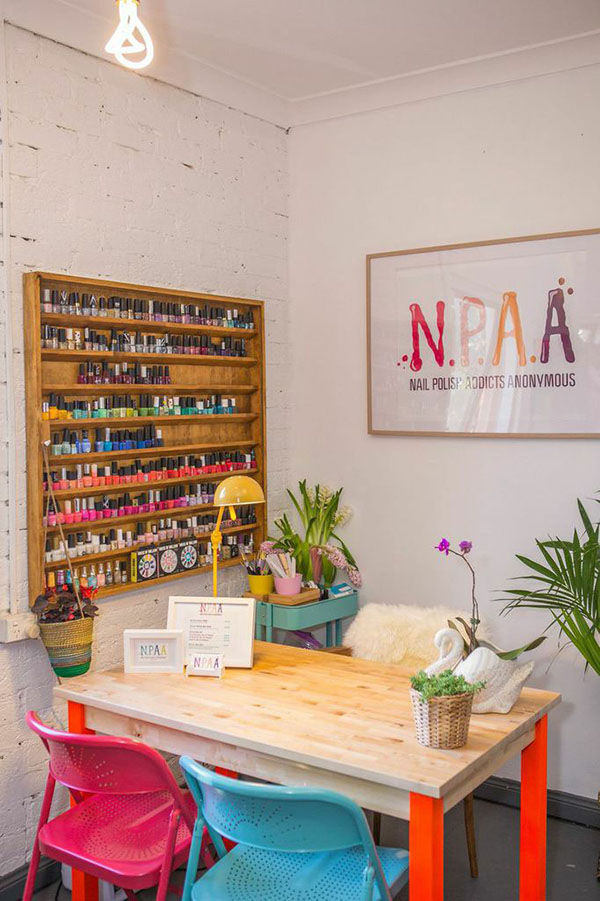 The new NPAA Nail Polish Addicts Anonymous in Surry Hills