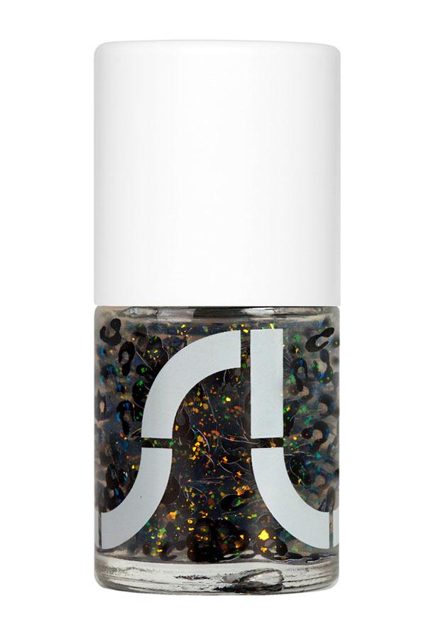 USLU airlines leopard nail polish